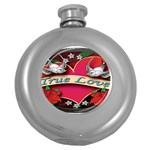 True-Love-Tattoo-Belt-Buckle Hip Flask (5 oz)