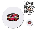 True-Love-Tattoo-Belt-Buckle Multi-purpose Cards (Round)