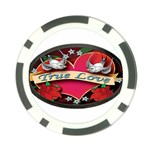 True-Love-Tattoo-Belt-Buckle Poker Chip Card Guard (10 pack)