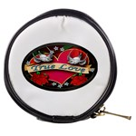 True-Love-Tattoo-Belt-Buckle Mini Makeup Bag