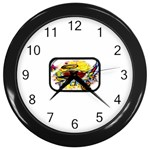 Taken-Tattoo-Belt-Buckle Wall Clock (Black)