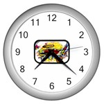 Taken-Tattoo-Belt-Buckle Wall Clock (Silver)