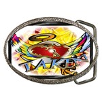 Taken-Tattoo-Belt-Buckle Belt Buckle