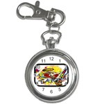 Taken-Tattoo-Belt-Buckle Key Chain Watch