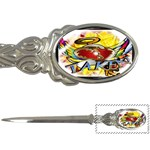 Taken-Tattoo-Belt-Buckle Letter Opener