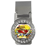 Taken-Tattoo-Belt-Buckle Money Clip (CZ)