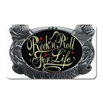 Rock-n-Roll-For-Life-Tattoo-Belt-Buckle Magnet (Rectangular)