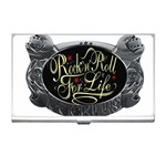 Rock-n-Roll-For-Life-Tattoo-Belt-Buckle Business Card Holder