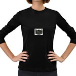 Rock-n-Roll-For-Life-Tattoo-Belt-Buckle Women s Long Sleeve Dark T-Shirt