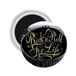 Rock-n-Roll-For-Life-Tattoo-Belt-Buckle 2.25  Magnet