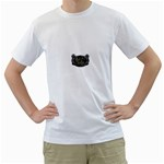 Rock-n-Roll-For-Life-Tattoo-Belt-Buckle White T-Shirt