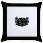 Rock-n-Roll-For-Life-Tattoo-Belt-Buckle Throw Pillow Case (Black)