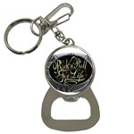 Rock-n-Roll-For-Life-Tattoo-Belt-Buckle Bottle Opener Key Chain