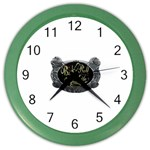 Rock-n-Roll-For-Life-Tattoo-Belt-Buckle Color Wall Clock