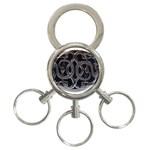 punkb 3-Ring Key Chain
