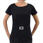 punkb Maternity Black T-Shirt