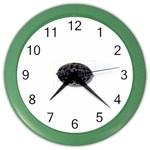 punkb Color Wall Clock