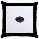 punkb Throw Pillow Case (Black)