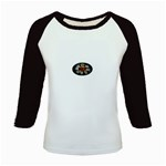 Oval-Black-Mind_-Body-and-Soul-Tattoo-Belt-Buckle Kids Baseball Jersey