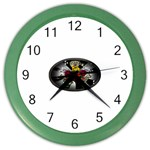 Oval-Black-Mind_-Body-and-Soul-Tattoo-Belt-Buckle Color Wall Clock