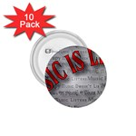 Music-Is-Life-Belt-Buckle 1.75  Button (10 pack)