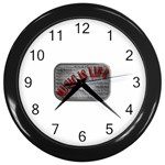 Music-Is-Life-Belt-Buckle Wall Clock (Black)