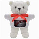 Music-Is-Life-Belt-Buckle Teddy Bear