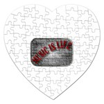 Music-Is-Life-Belt-Buckle Jigsaw Puzzle (Heart)