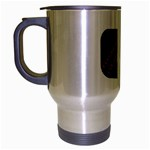 Music-Is-Life-Belt-Buckle Travel Mug (Silver Gray)