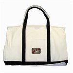 Music-Is-Life-Belt-Buckle Two Tone Tote Bag