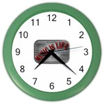 Music-Is-Life-Belt-Buckle Color Wall Clock