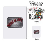 Music-Is-Life-Belt-Buckle Multi-purpose Cards (Rectangle)