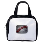 Music-Is-Life-Belt-Buckle Classic Handbag (One Side)
