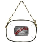 Music-Is-Life-Belt-Buckle Chain Purse (Two Sides)