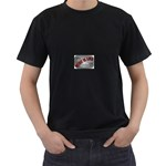Music-Is-Life-Belt-Buckle Black T-Shirt