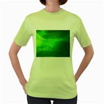 4-702-Fwallpapers_077 Women s Green T-Shirt