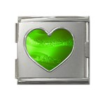 4-702-Fwallpapers_077 Mega Link Heart Italian Charm (18mm)