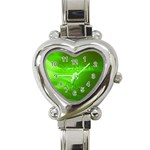 4-702-Fwallpapers_077 Heart Italian Charm Watch