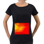 4-703-Fwallpapers_079 Maternity Black T-Shirt