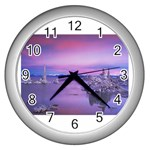 4-15-Backgrounds_1024x768_002 Wall Clock (Silver)