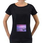 4-15-Backgrounds_1024x768_002 Maternity Black T-Shirt