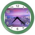 4-15-Backgrounds_1024x768_002 Color Wall Clock