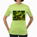 2-1252-Igaer-1600x1200 Women s Green T-Shirt
