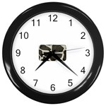 277G1001 Wall Clock (Black)