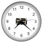 277G1001 Wall Clock (Silver)