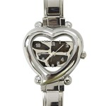 277G1001 Heart Italian Charm Watch