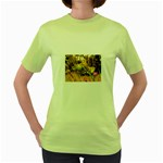 2-95-Animals-Wildlife-1024-028 Women s Green T-Shirt