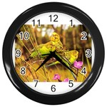 2-95-Animals-Wildlife-1024-028 Wall Clock (Black)