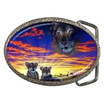 2-77-Animals-Wildlife-1024-010 Belt Buckle