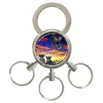 2-77-Animals-Wildlife-1024-010 3-Ring Key Chain